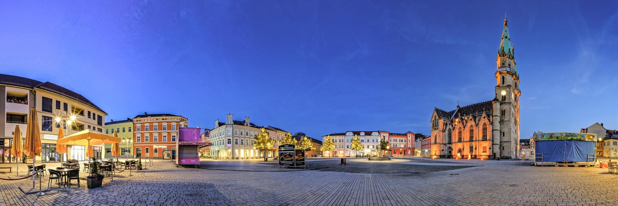 Marktplatz Meiningen
